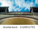 ancient house in tha rae ...   Shutterstock . vector #1120011752