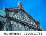 ancient house in tha rae ...   Shutterstock . vector #1120011755