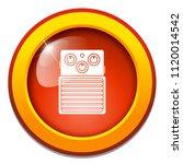 vector electric amplifier sign. ... | Shutterstock .eps vector #1120014542