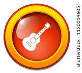 vector acoustic guitar   icon ...   Shutterstock .eps vector #1120014605