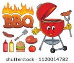 barbeque theme set 2   eps10...   Shutterstock .eps vector #1120014782