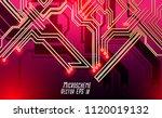 colorful microscheme design.... | Shutterstock .eps vector #1120019132