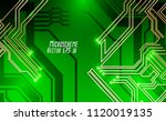 colorful microscheme design.... | Shutterstock .eps vector #1120019135