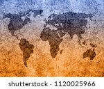 old map background | Shutterstock . vector #1120025966