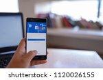 chiang mai  thailand   june 03... | Shutterstock . vector #1120026155