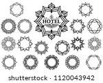 set of logo design templates...   Shutterstock .eps vector #1120043942
