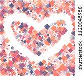 rhombus pattern minimal...   Shutterstock .eps vector #1120045958