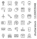 thin line vector icon set  ... | Shutterstock .eps vector #1120055048