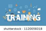 training concept illustration.... | Shutterstock .eps vector #1120058318