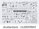 management infographic concept... | Shutterstock .eps vector #1120059845