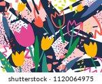 creative horizontal backdrop...   Shutterstock .eps vector #1120064975