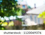 drops of cleaning fluid on...   Shutterstock . vector #1120069376
