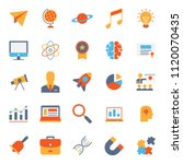 set of simple education icon... | Shutterstock .eps vector #1120070435