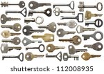 Collection Of Old Keys ...