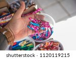 firework for juninas fires | Shutterstock . vector #1120119215