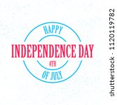 vector fourth of july for...   Shutterstock .eps vector #1120119782