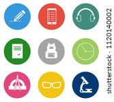 vector school   education icons ... | Shutterstock .eps vector #1120140002