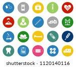 vector healthcare icons  ... | Shutterstock .eps vector #1120140116