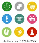 online marketing  e commerce... | Shutterstock .eps vector #1120140275