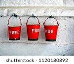 Three Metal Fire Buckets...
