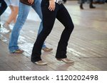 country line dance and western... | Shutterstock . vector #1120202498