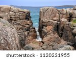 Split In Rocks At Carrickfin ...