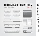 light square ui controls web...