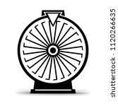 fortune wheel icon symbol.... | Shutterstock . vector #1120266635