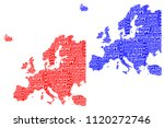 sketch europe letter text... | Shutterstock .eps vector #1120272746