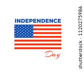 4th of july  american... | Shutterstock .eps vector #1120275986
