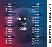 vector illustration of football ... | Shutterstock .eps vector #1120278095
