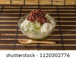 shaved ice of summer | Shutterstock . vector #1120302776