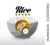 elegant master gold rice vector | Shutterstock .eps vector #1120325402
