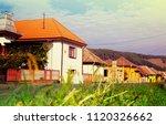 rural landscape of village in...   Shutterstock . vector #1120326662