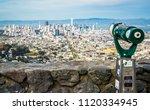 twin peaks view of amazing bay...   Shutterstock . vector #1120334945