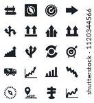 set of vector isolated black... | Shutterstock .eps vector #1120344566