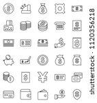 thin line vector icon set  ...   Shutterstock .eps vector #1120356218