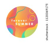 unique artistic design card  ... | Shutterstock .eps vector #1120369175