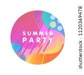unique artistic design card  ... | Shutterstock .eps vector #1120369478