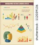 detail infographic vector... | Shutterstock .eps vector #112039136