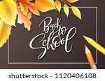 vector illustration with design ... | Shutterstock .eps vector #1120406108