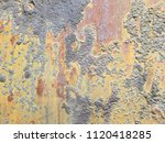 texture of rusty iron. aged... | Shutterstock . vector #1120418285