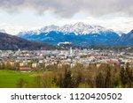 beautiful panoramic view of...   Shutterstock . vector #1120420502