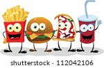 A Group Of Friendly Fast Food...