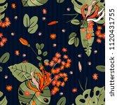 botanical motifs. isolated...   Shutterstock .eps vector #1120431755