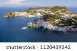 aerial view of ponza  island of ... | Shutterstock . vector #1120439342