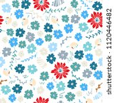 vector seamless pattern of neat ... | Shutterstock .eps vector #1120446482