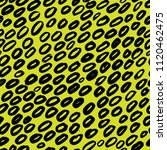 yellow seamless pattern with... | Shutterstock .eps vector #1120462475
