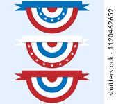 bunting for july 4 and other... | Shutterstock .eps vector #1120462652
