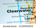 clearwater. florida. usa on a...   Shutterstock . vector #1120492055
